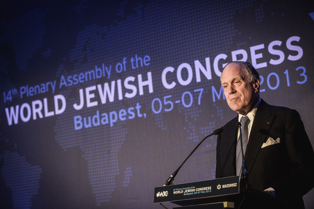 Congress | Ronald Lauder during the WJC opening ceremony